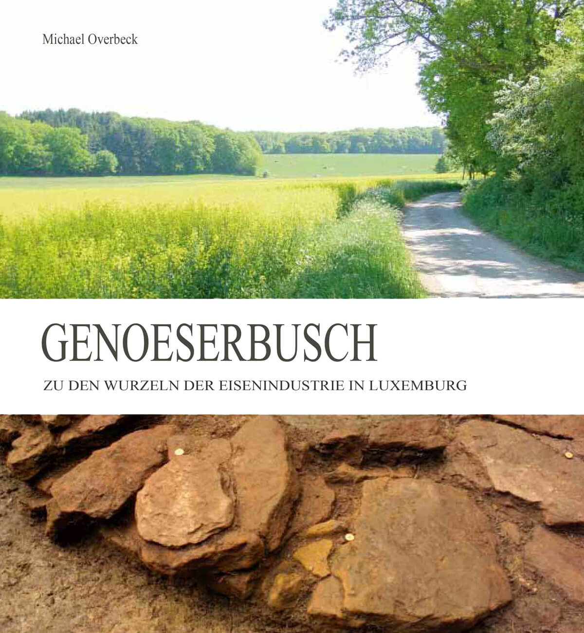 Buchgestaltung Referenz Genoeserbusch Cover