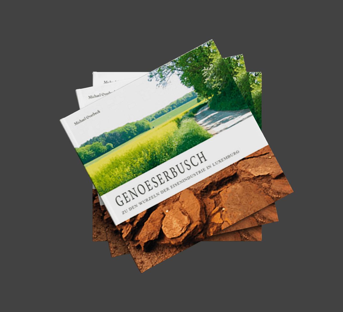 Buchgestaltung Referenz Genoeserbusch Front