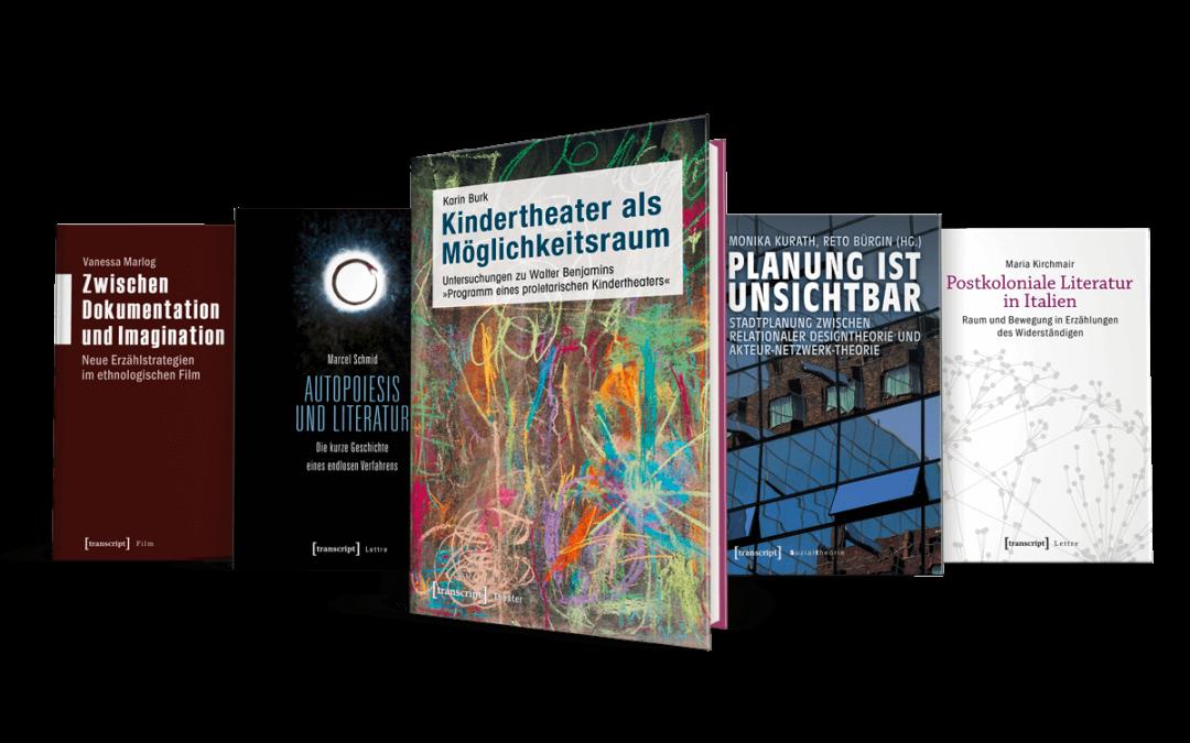 transcript Verlag – Gestaltung & Buchsatz