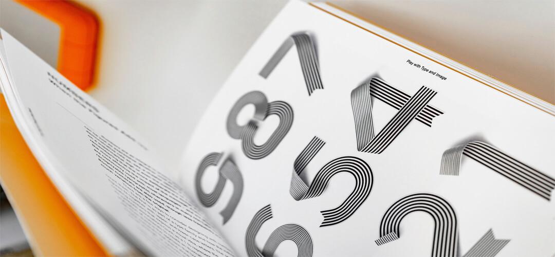 Grafikdesign Print 7Silben