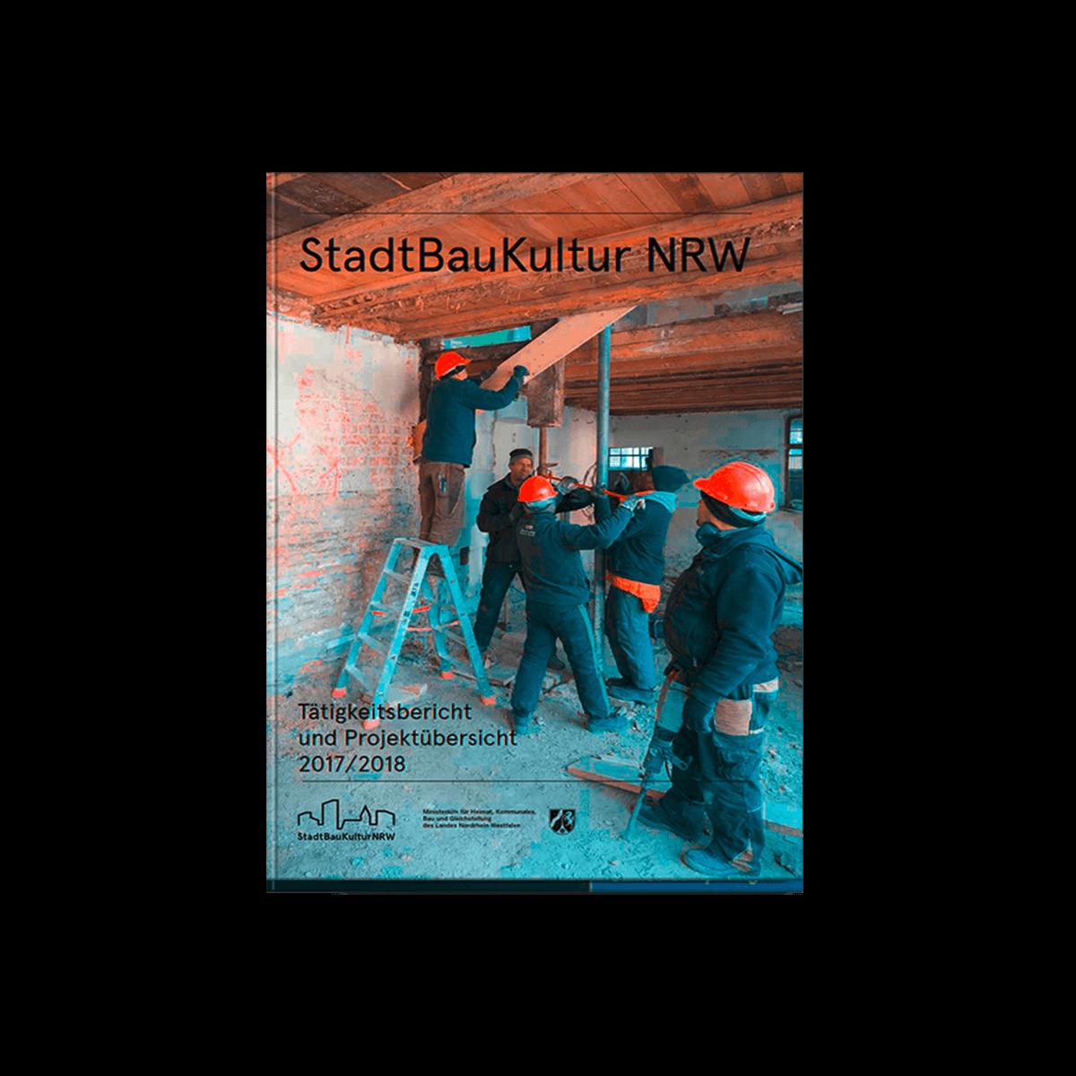 Lektorat und Umbruchkorrektur StadtBauKultur NRW - Tätigkeitsbericht und Projektübersicht