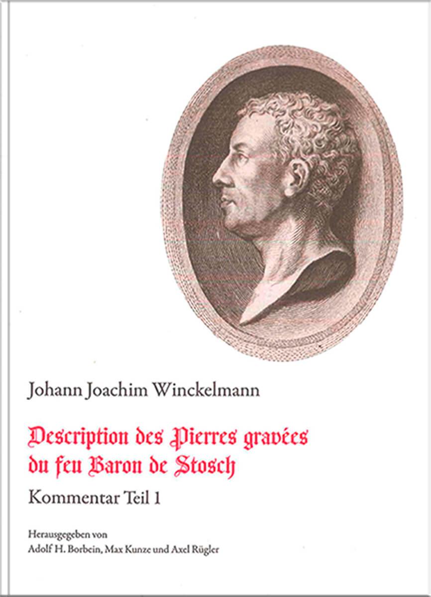Buchgestaltung Cover Referenz Winckelmann