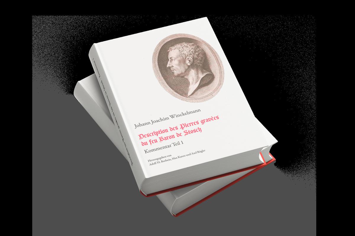 Buchgestaltung Umschlag Referenz Winckelmann
