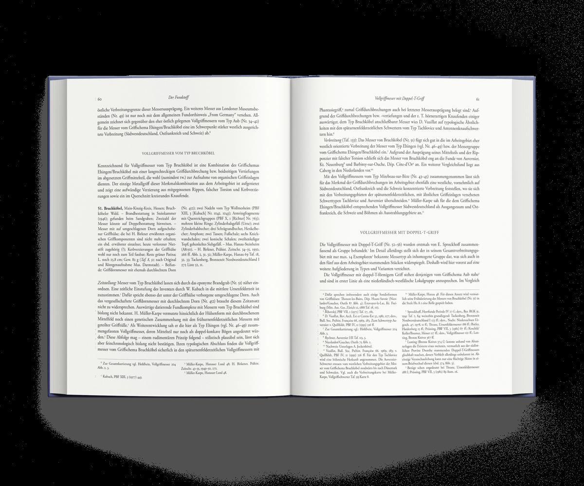 Buchgestaltung Referenz PBF aufgeschlagen