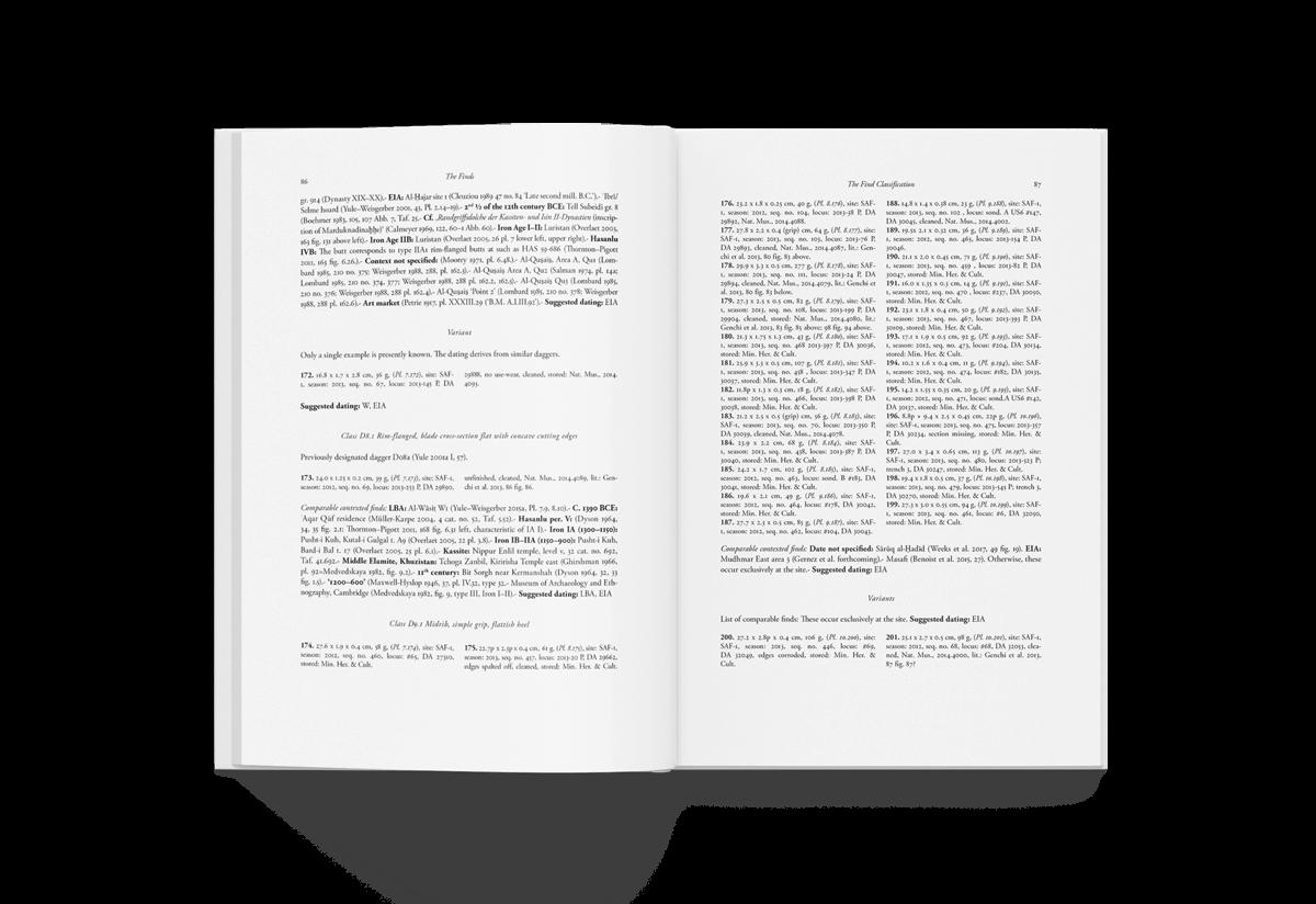 Buchgestaltung Referenz Universitätsforschungen innen