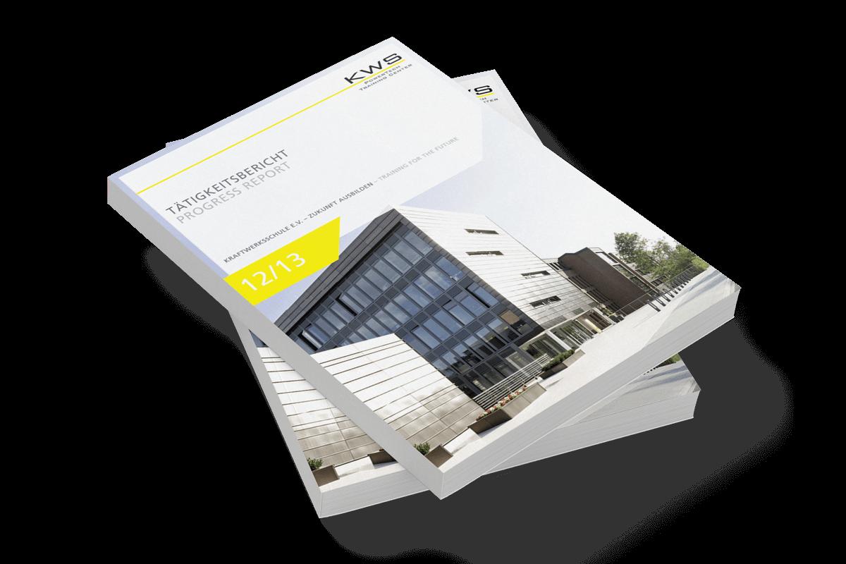 Grafikdesign Referenz Tätigkeitsbericht Front