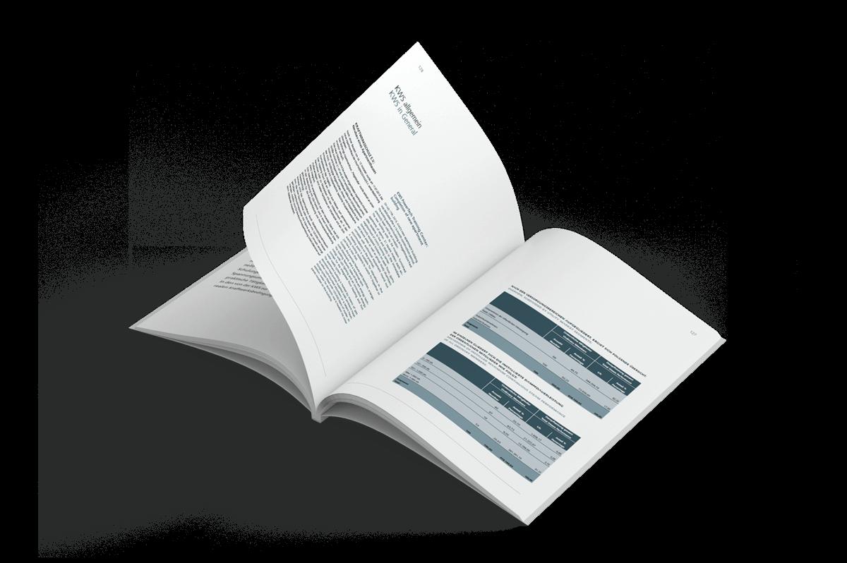 Grafikdesign Referenz Tätigkeitsbericht innen 3