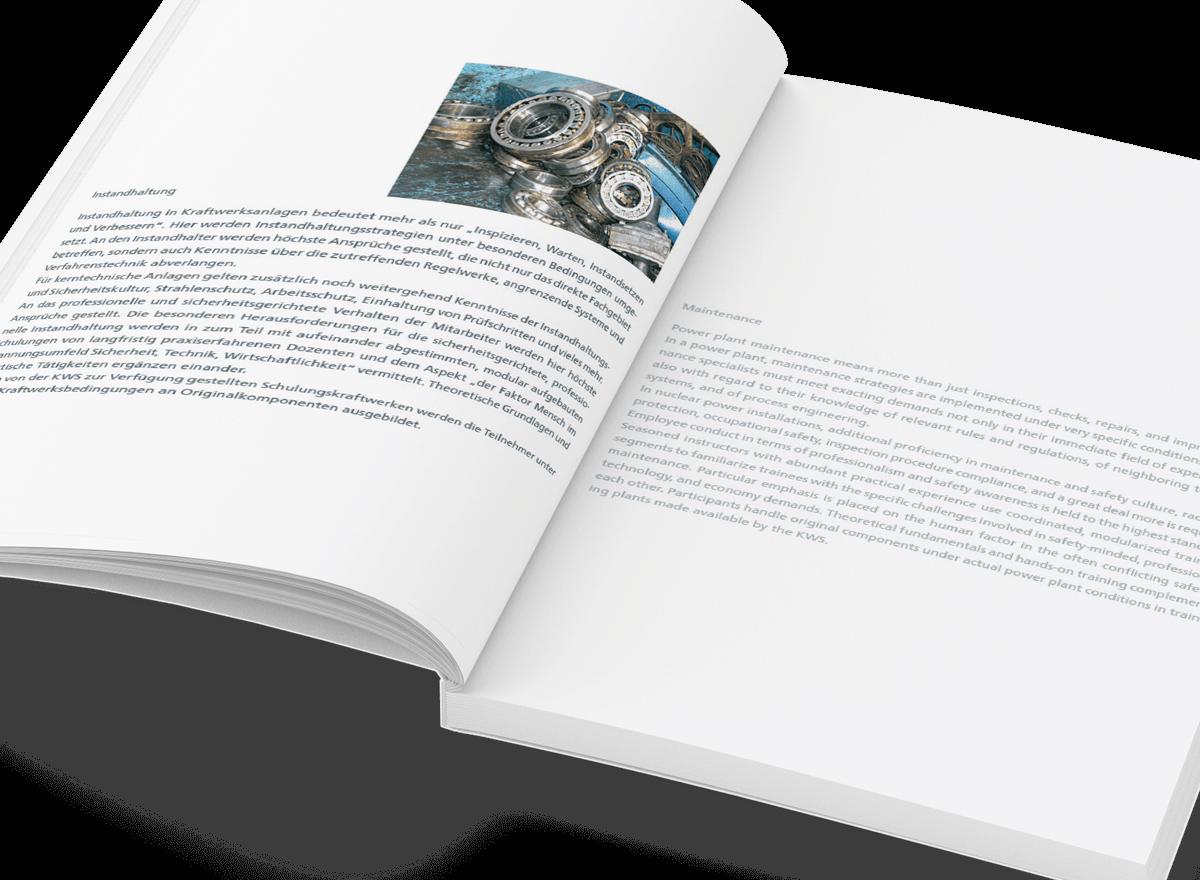Grafikdesign Referenz Tätigkeitsbericht innen 5